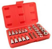"Bit Sockets Set 3/8"" Drive 34 Piece"